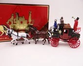 MIB Vintage Matchbox Special Edition YS-39 Models of Yesteryear 1820 Passenger Coach & Horses Diecast Model Car in Original Box