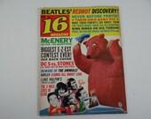 December 1964 Teen Magazine 16 Magazine Beatles Redhot Discovery