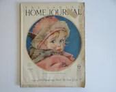 February 1924 Ladies Home Journal Magazine - The Thundering Herd Zane Grey - Women's Fashion - Paris Lingerie