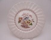 "Vintage Royal Doulton English Bone China ""Grantham"" Dinner Plate - 2 available"