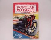 "Vintage June 1935 Popular Mechanics Magazine ""Phantom Raiders of the Air"""
