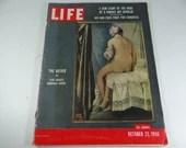 1956 Life Magazine, October 22  - The Bather - Nip Tuck Congress - Around the World in 80 days