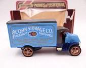 "MIB Vintage Lesney Matchbox Y-30 Models of Yesteryear ""Acorn Storage Co"" 1920 model AC Mack Diecast Car in Original Box"
