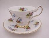 1950s Royal Standard English Bone China 3188 Teacup English Teacup and Saucer Charming English Tea Cup Set