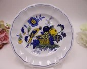 """Vintage Copeland Spode English Bone China Bread and Butter Plate """"Blue Bird"""" Pattern - 7 available"""