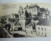 "Vintage French Souvenir Album Postcard Booklet Set of 20 - French Castle - ""Loches"""