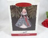 "1995 Hallmark Keepsake Ornament ""Holiday Barbie"" Collector Series  in Box"