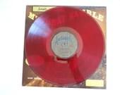 "1959 Audiophile Red Colored LP Vinyl Album AP-56 Doc Evans  ""Muscat Ramble""  Jazz Album"