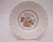 "Vintage Royal Doulton English Bone China ""Grantham"" Coupe Cereal Bowl - 3 available"