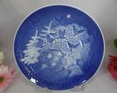 1981 Bing and Grondahl B G Christmas Collector Plate Christmas Peace