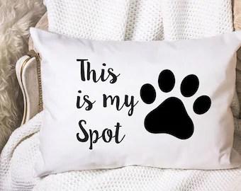 dog pillowcase etsy