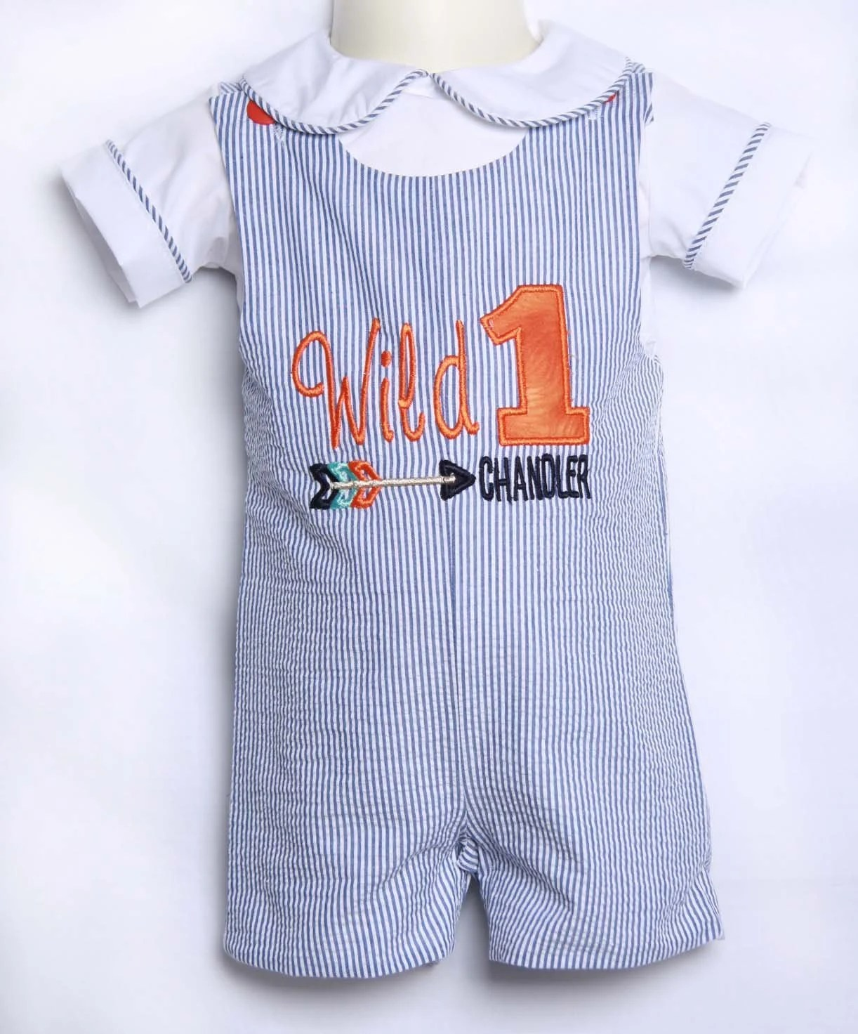 Wild One First Birthday Outfit Boy 1st Birthday Boy Outfit Etsy