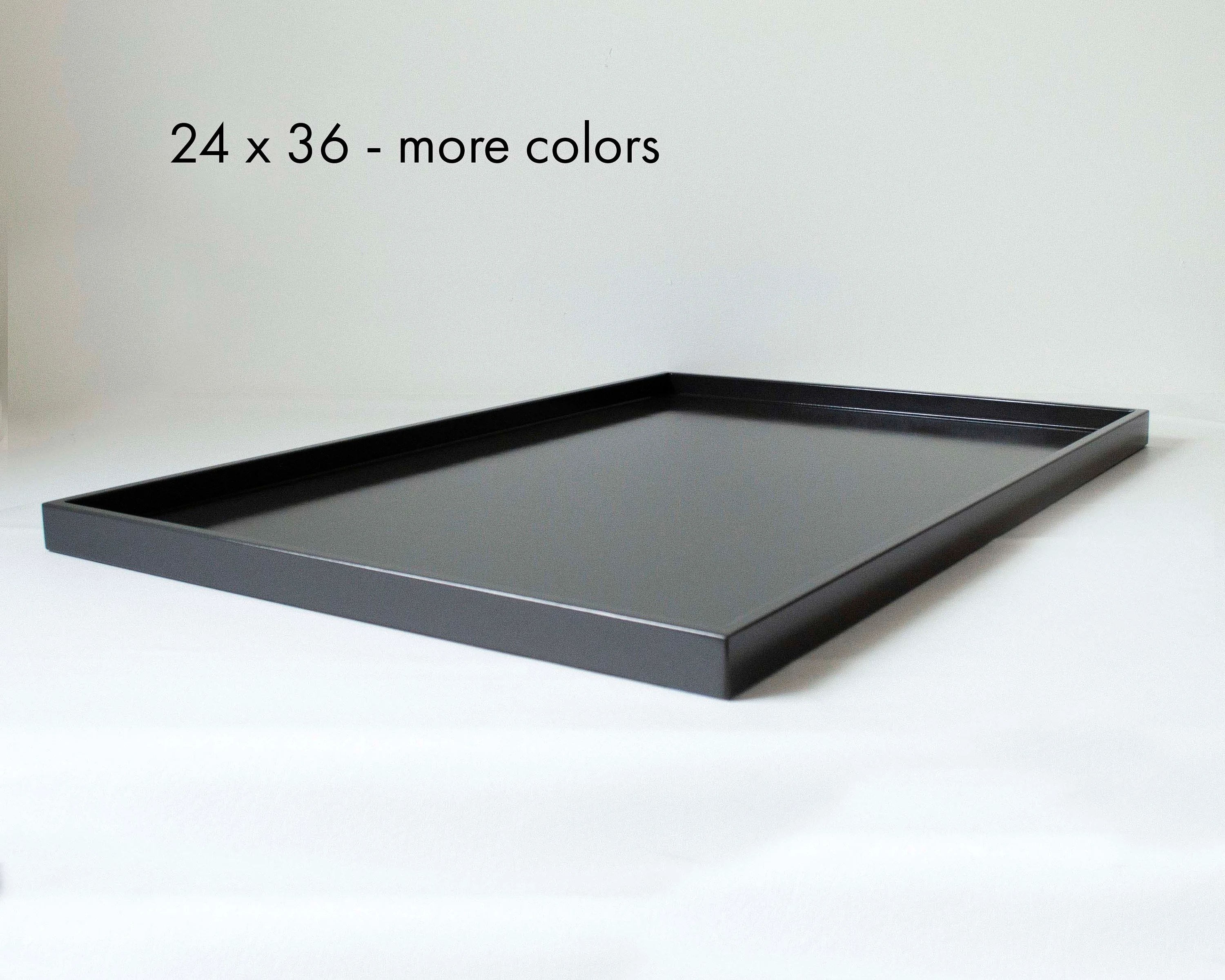 36 x 24 oversized ottoman tray modern rectangular extra large coffee table tray
