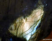 Raw Labradorite, Golden L...