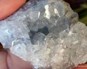 Celestite Cluster, Celestite Geode, Celestite Crystal Cluster, Crown Chakra crystal, Calming Crystal, Crystal for Prophetic Dreams ~2144