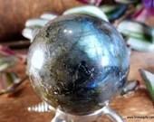 Labradorite Crystal Ball ...