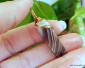 Botswana Agate Pendant, P...