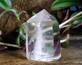 Quartz Point Clear Quartz Crystal Tower, Quartz Crystal Point ~1977