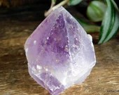Amethyst Point Crystal Tower, Stress Relief Crystal, Purple Amethyst Crystal~1918