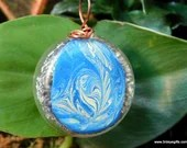 Orgone Pendant, Abstract ...