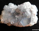 Celestite Crystal Cluster, Crown Chakra Crystal ~1621