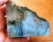 Blue Labradorite Slab, Re...