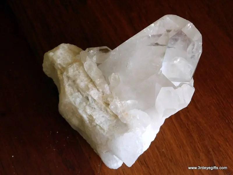 Large Quartz Crystal Clus...