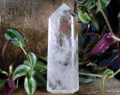 Polished Clear Quartz Tower, Crystal Tower, Quartz Point ~1999