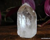 Raw Quartz Tower, Crystal Tower, Clear Quartz, Crystal Cluster ~1707