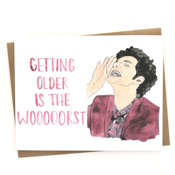 Parks And Rec Birthday Card Etsy