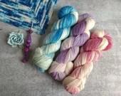 Bluebonnet Shawl Crochet Kit
