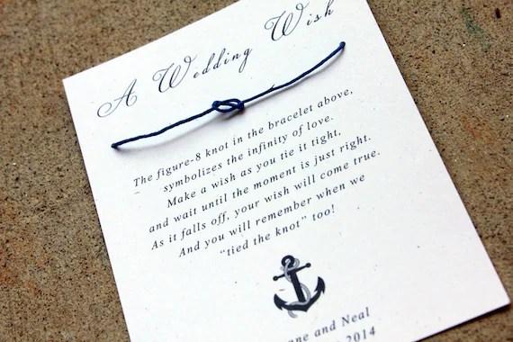 Wedding Wish Bracelet