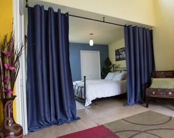 curtain room divider etsy