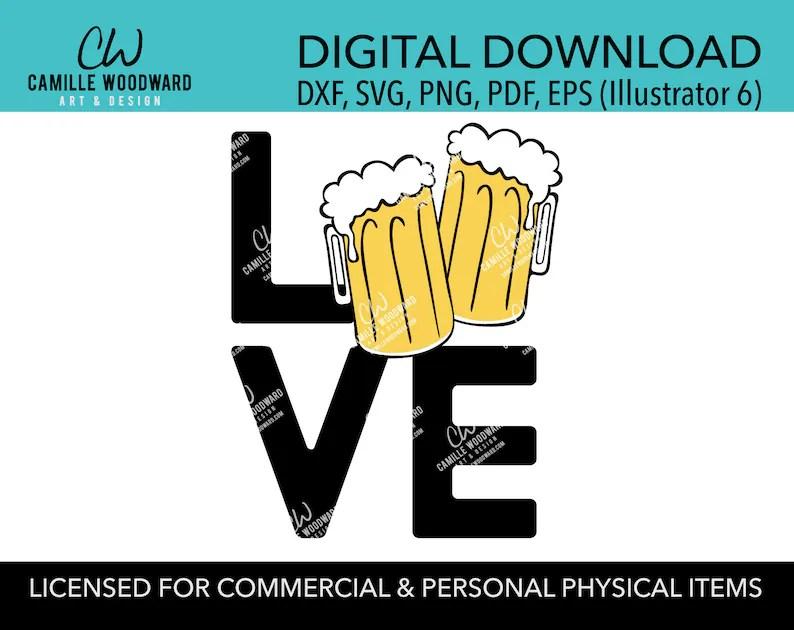 Download Beer Lovers SVG Beer SVG Cartoon Beer Beer Mug SVG Beer   Etsy