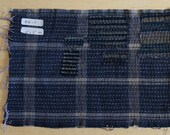 Boro-Inspired Sashiko Fabric #50-A | Authentic fabric hand-stitched to be Boro