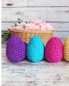 Easter Eggs Rattles Egg Rattles Knit Baby Easter Gift Etsy