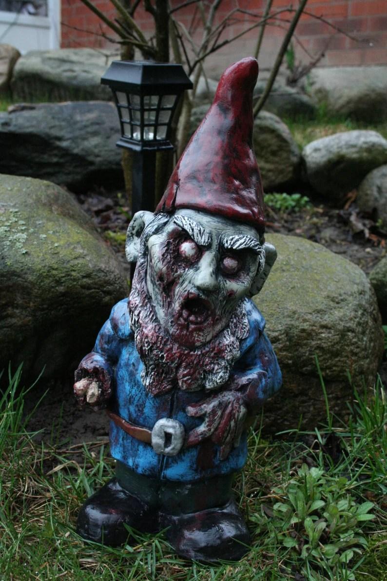 Necro Neckbeard Zombie Gnome image 0