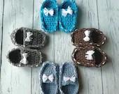 Crochet baby loafer bootie pattern Newborn, 3-6 M, 6-9M, 9-12M PDF Instant Download Gift Present Baby Shower