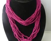 Crochet simple chain neck...