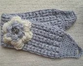 Crochet pattern flower he...