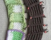 Crochet Coaster Fringe Be...