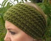 Crochet headband wrap ear...