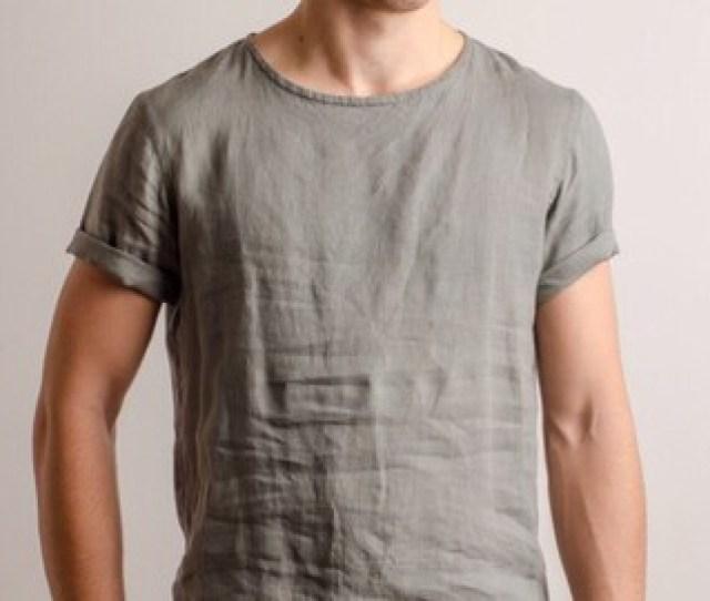 Comfort Color Linen T Shirts For Men