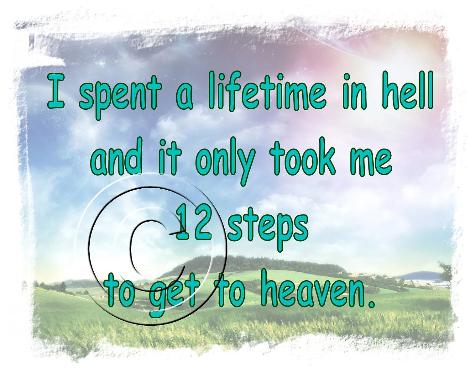 Alcoholics Anonymous Recovery Inspirational Digital Prints