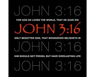 Download John 3 16 | Etsy