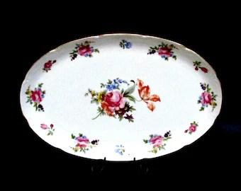 Prussia B Royal Rudolstadt Cake Plate And 6 Dessert Plates