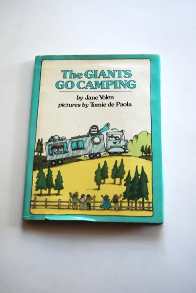 Vintage Children s Book Sylvester and the Magic Pebble Vintage Children s Book  The Giants Go Camping