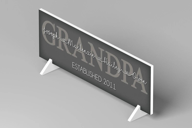 Personalized Father's Day Gift for Grandpa Grandpa Gift image 2