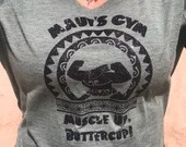 Maui's Gym-  Muscle Up Butter Cup- You're Welcome - Moana & Maui inspired Shirt
