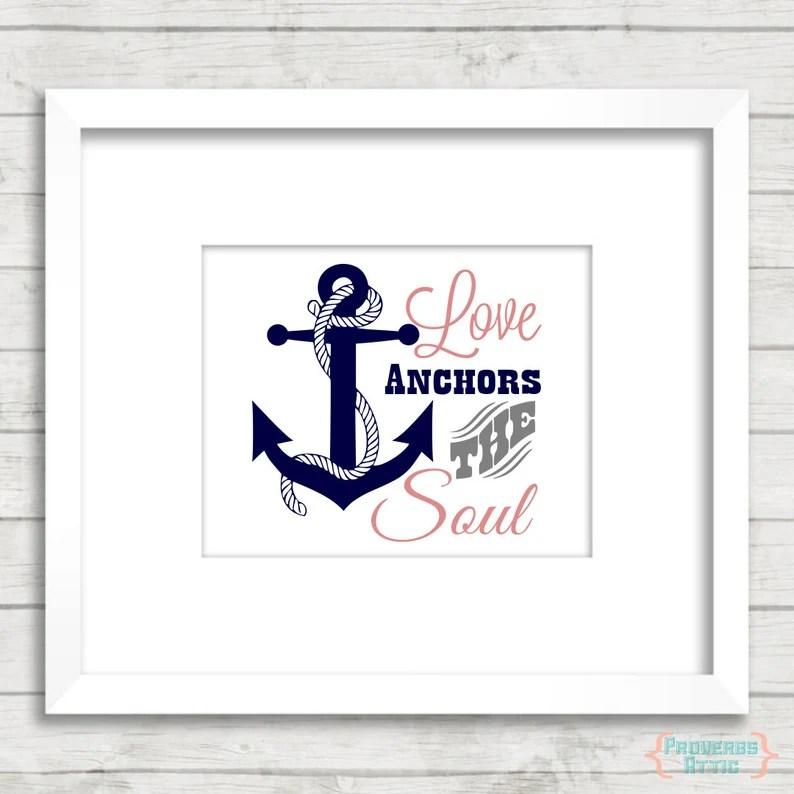 Download Love Anchors the Soul Digital File Instant Download Svg ...